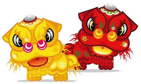 Lion Dance - Girl Scouts International Carnivale