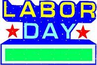 LABOR DAY WEEKEND - CLOSED